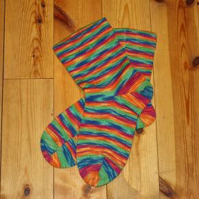 Oppskrift på sokker, strikkemaskin
