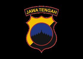 Polda Jawa Tengah Logo Vector download free