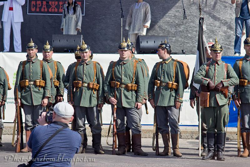 Германские воины