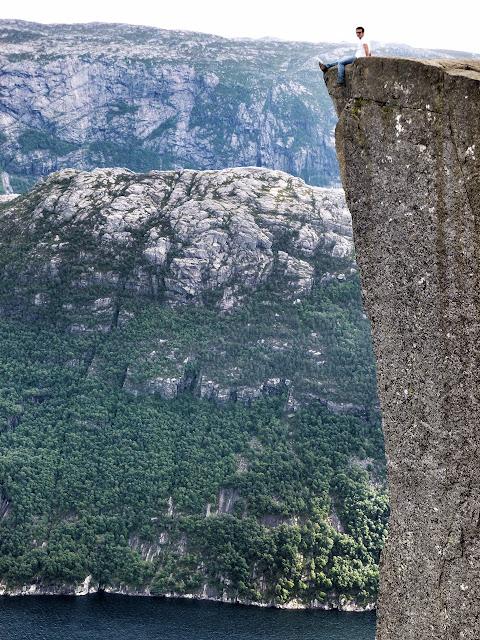 Stavanger Norway dreams KLM airlines godutch pulpit rock