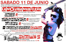 La Movida Madrileña: Evento Especial en Mexico D.F.