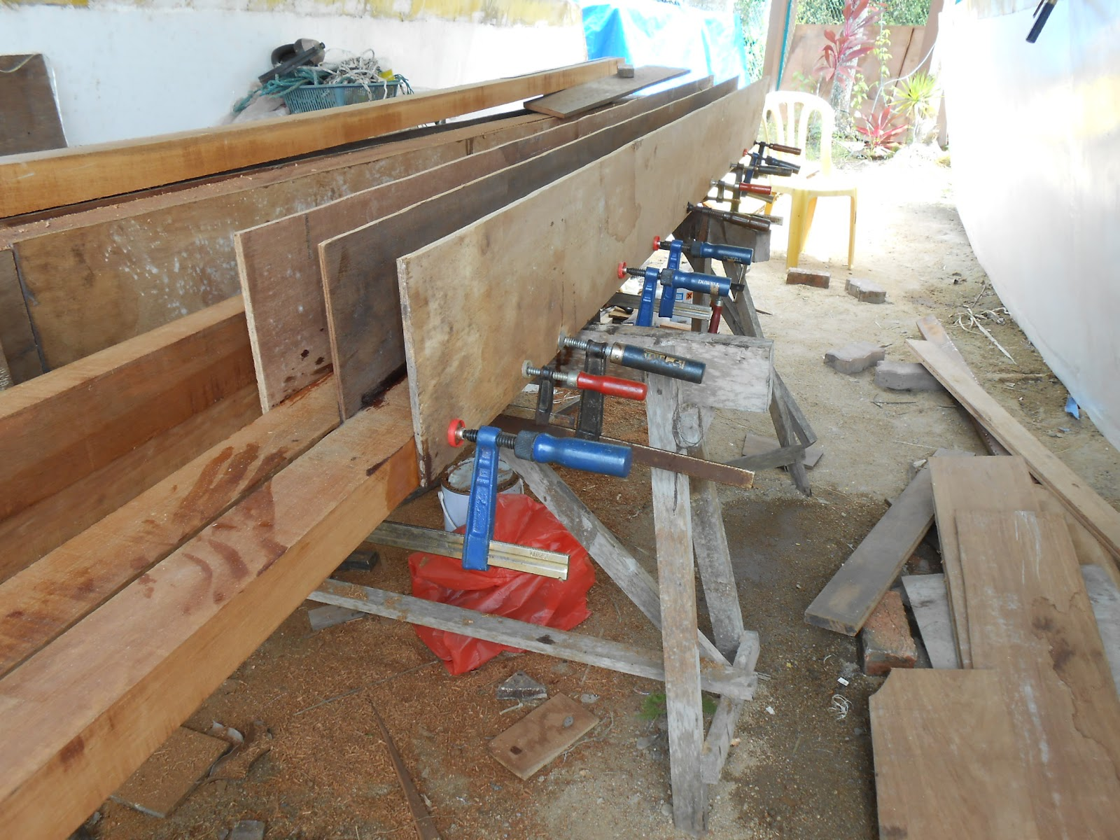 The flying python building the main beams for my gypsy for How to build a box beam