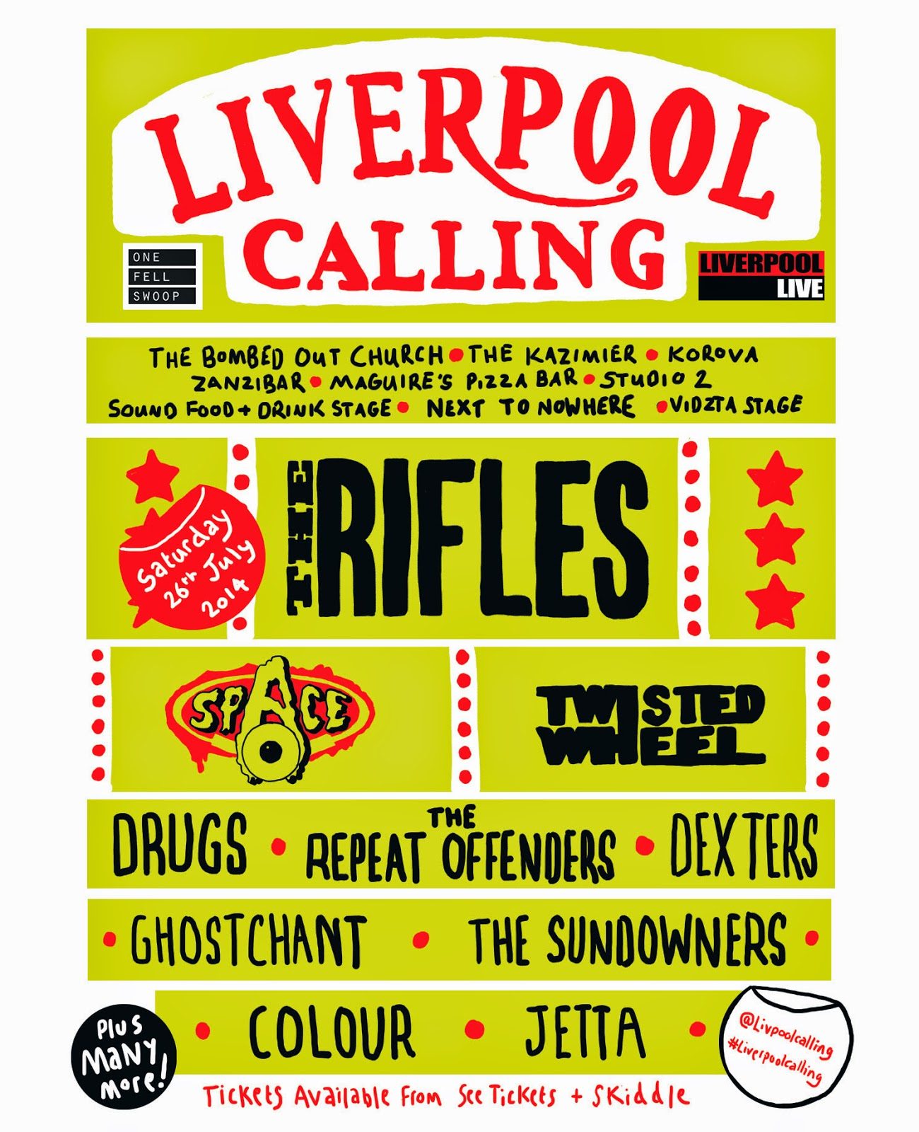 Liverpool calling 2014 - Bombed out church review