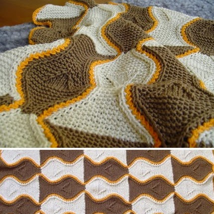 Fish Blanket - Free Pattern