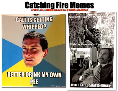 Catching Fire Memes #HungerGames