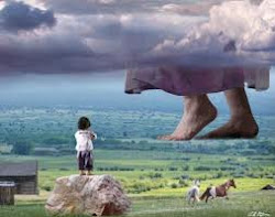 O céu é meu trono e a terra estrado do meu pés. At 7:49