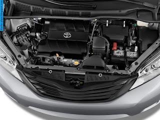 Toyota sienna car 2012 engine - صور محرك سيارة تويوتا سيينا 2012
