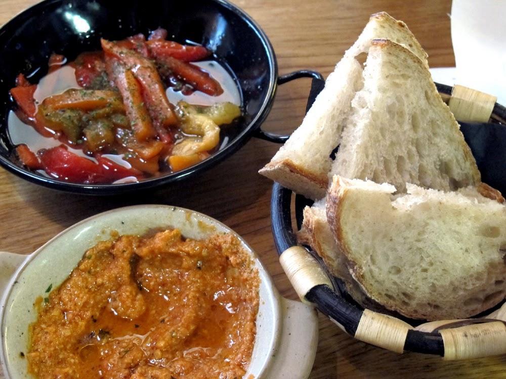 Calcotada set menu lunch at Tramontana in Shoreditch