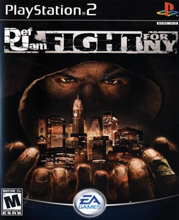 Def Jam: Fight for NY PS2 Capa