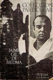 """""""colección particular"""" - J. Gil de Biedma."""