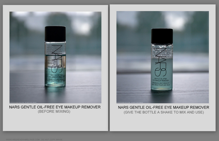 NARS Gentle Oil-Free Eye Makeup Remover How to Use Review Indian Beauty Makeup Blog