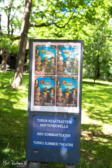 Turku, kesäteatteri, vartiovuori, teatteri, lapset, kesä