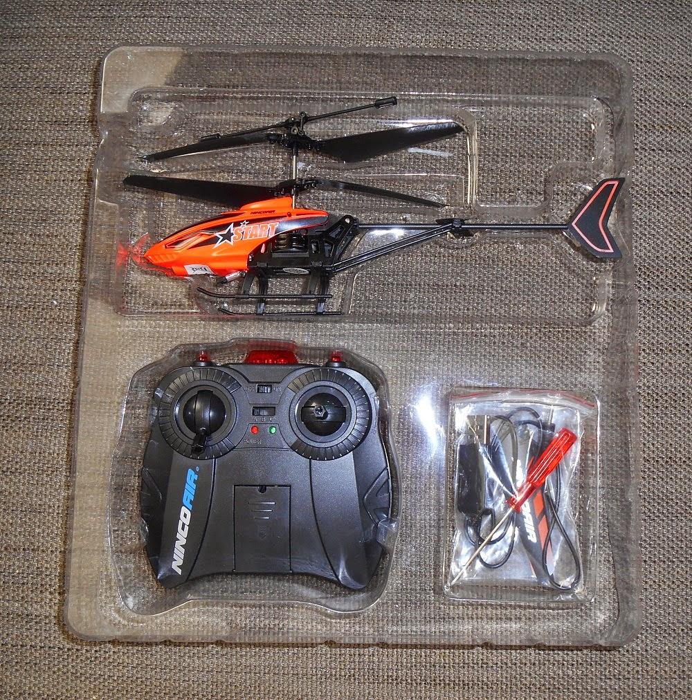 helicóptero radio control de interior