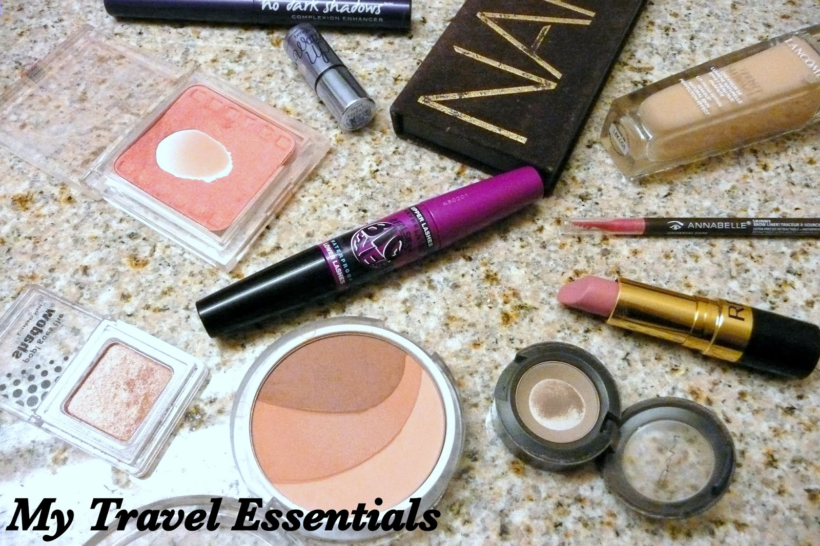 Makeup Travel Essentials