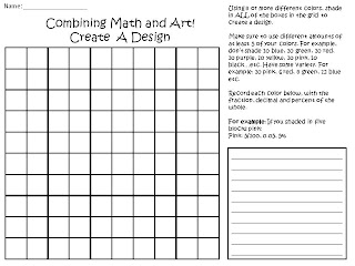 free math activity for fractions percents and decimals
