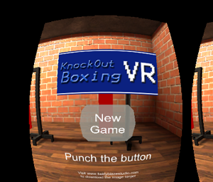 Sports Game of the Month - Knockout Boxing VR