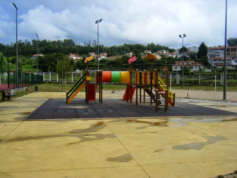 Parque Infantil do parque da Cidade de vale de Cambra