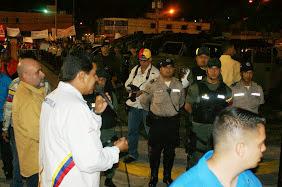 Visita del Presidente Constitucional Nicolas Maduro a Bella Florida, Valencia.