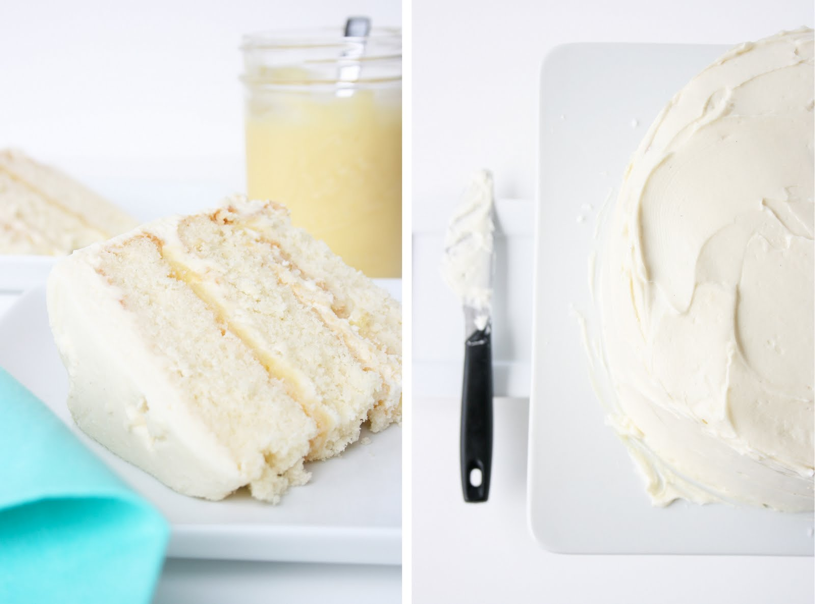 stephmodo Coconut Cake Lemon Curd Fluffy Cream Cheese Frosting