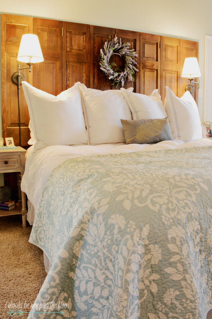 Make A Headboard i should be mopping the floor: how to make a headboard out of