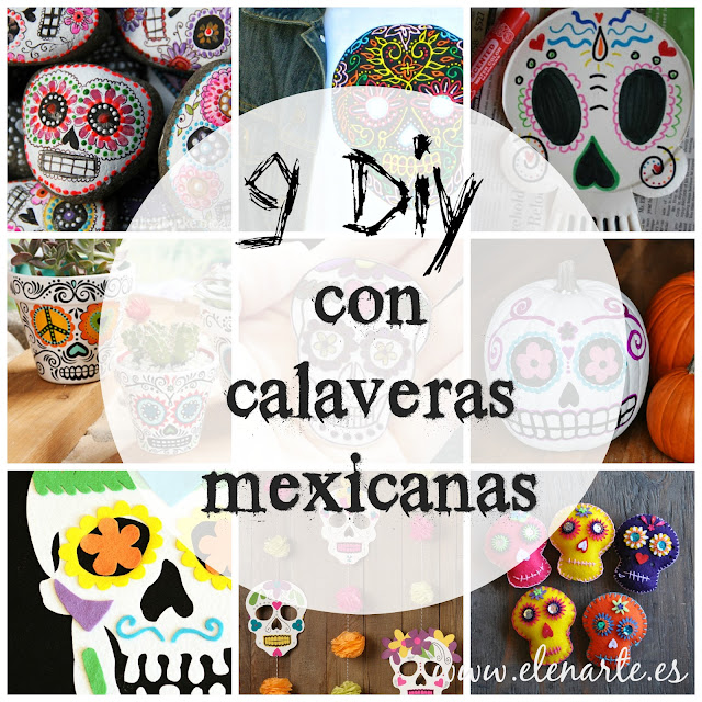 9 manualidades con calaveras mexicanas