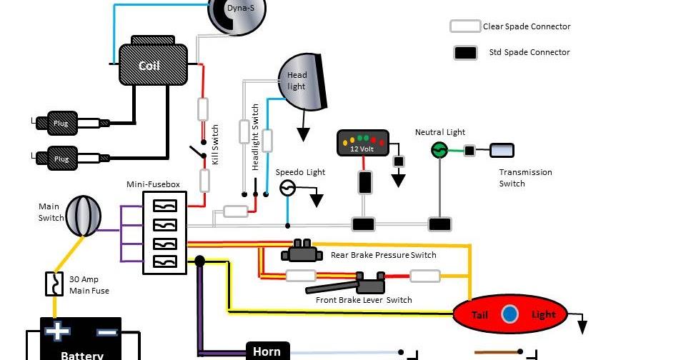 Dyna i ignition wiring diagram for shovelhead