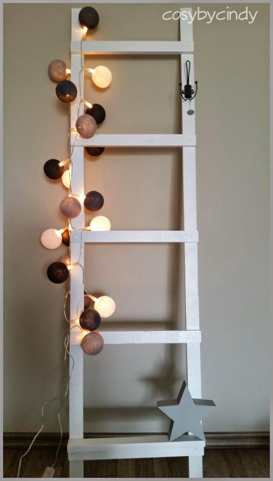 Cosy by cindy altijd iets leuks te vinden zelf een decoratieladder maken - Gang decoratie met trap ...