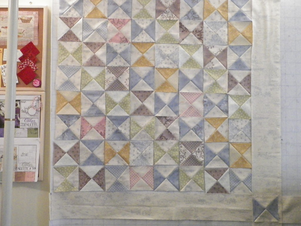 Scraps And Quilts Design Wall Kian 39 S Baby Quilt