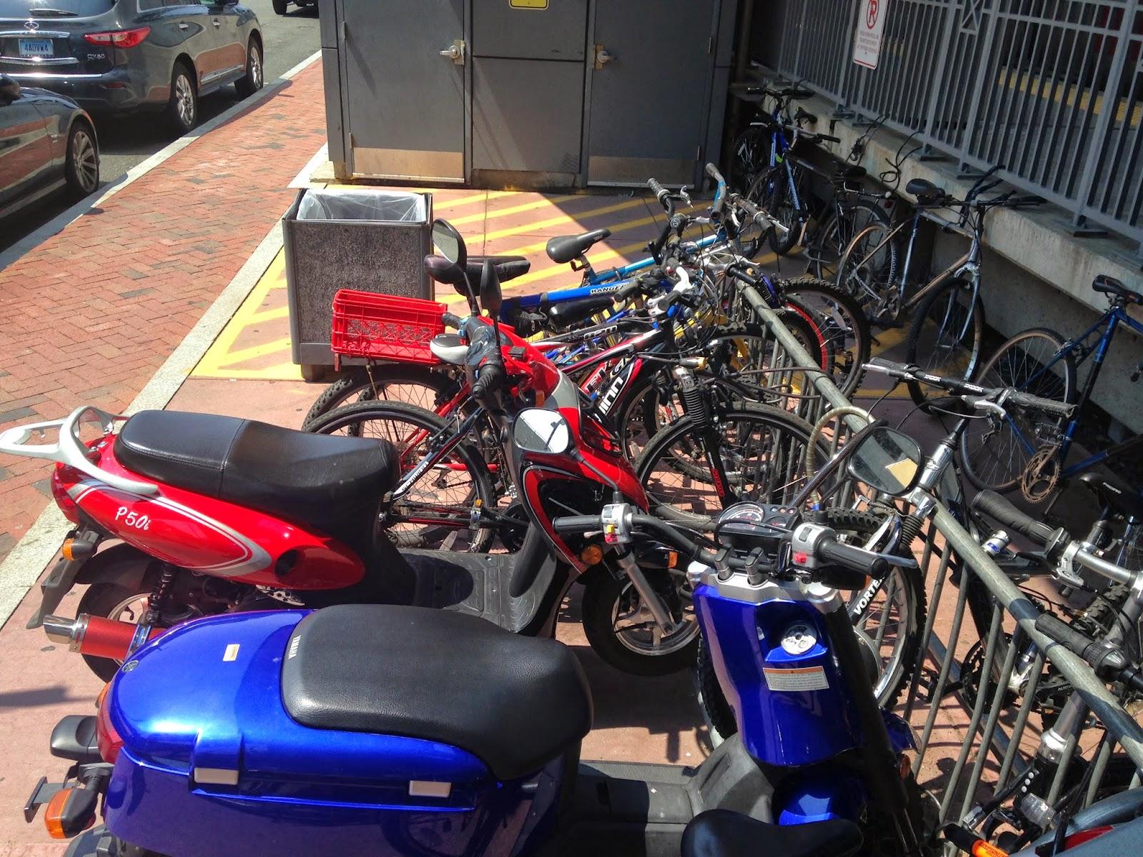Bikes On Metro North Stamford Metro North station