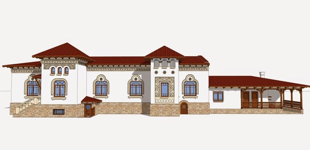 case neoromanesti cu profile polistiren, arhitect, proiect fatada