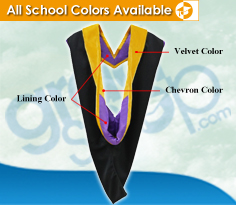 Graduation Shop: The Different Parts of Graduation Regalia Hood