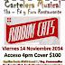 Riddim Cats en Ska - fe y Foro Restaurante Viernes 14 Noviembre 2014