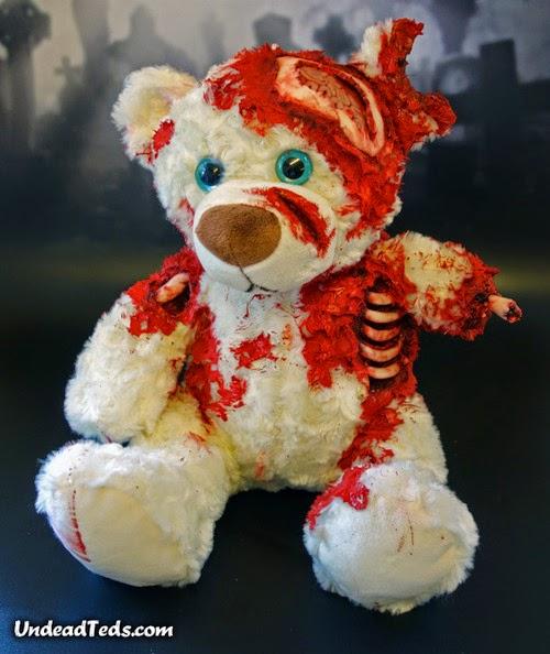 undead ted, zombie teddy bear 2