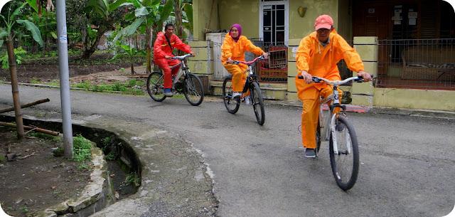 Sepedaan di Pangandaran