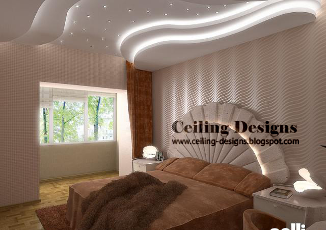 Bedroom ceiling design for Best fall ceiling designs