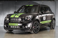 Mini John Cooper Works Countryman All4 Dakar Winner 2013 (2013) Front Side