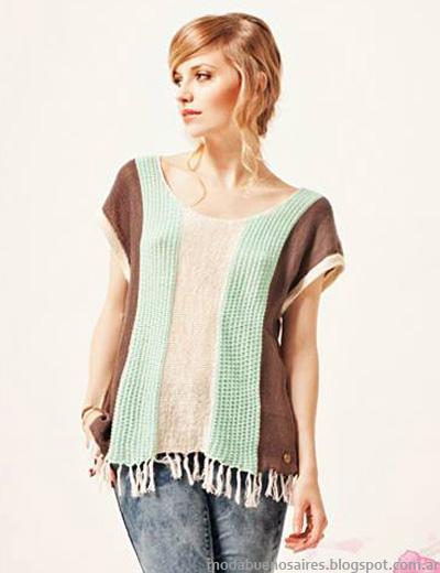 Moda 2014 tejidos de verano Florencia Llombart.