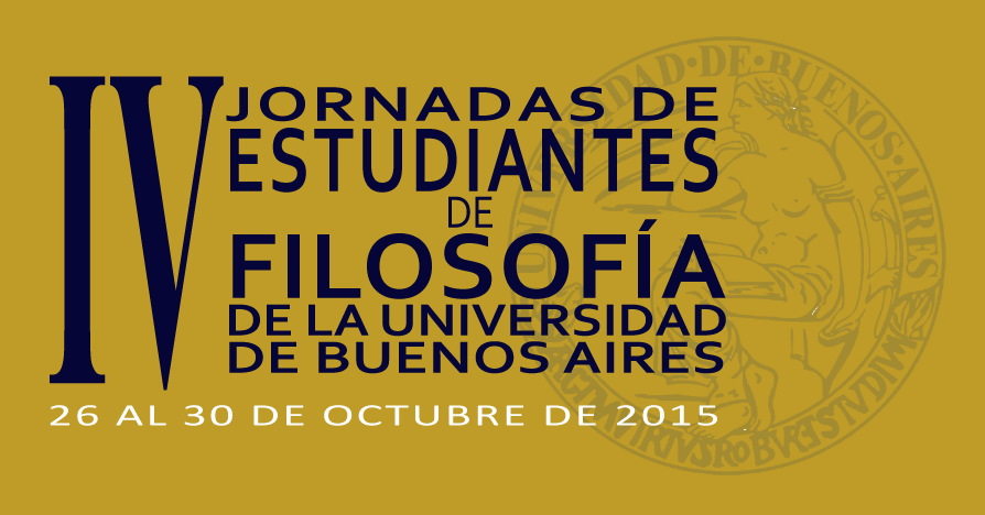 IV Jornadas de Estudiantes de Filosofía (UBA)