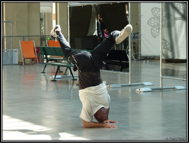 cent Quatre 104 Paris, danseurs hip hop Philippe