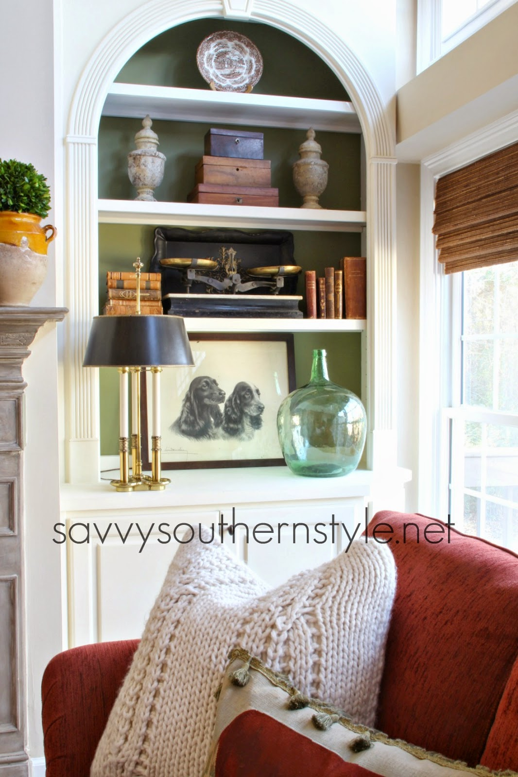 Savvy southern style french country styled shelves for French country shelves