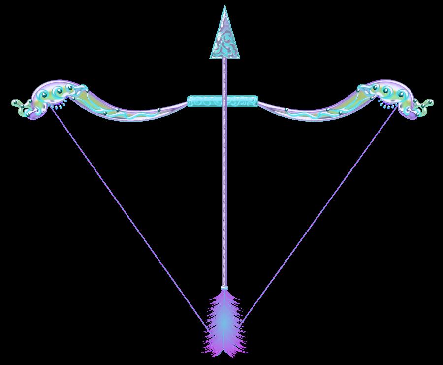 Magical Bow And Arrow Random Girly Graphics