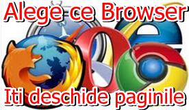 Cum schimbi Browser-ul principal