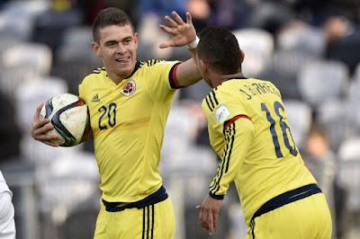 Colombia Sub 20-USA Sub 20