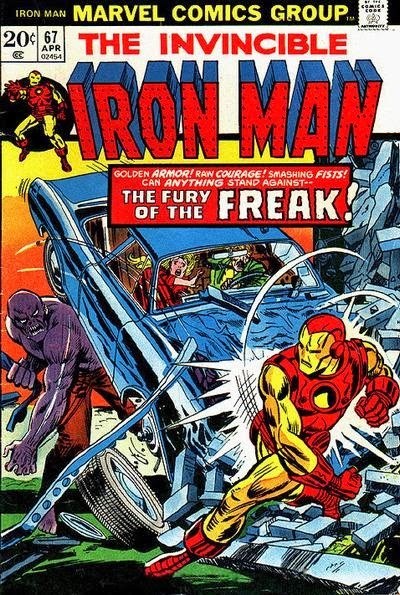 Iron Man #67, the Freak