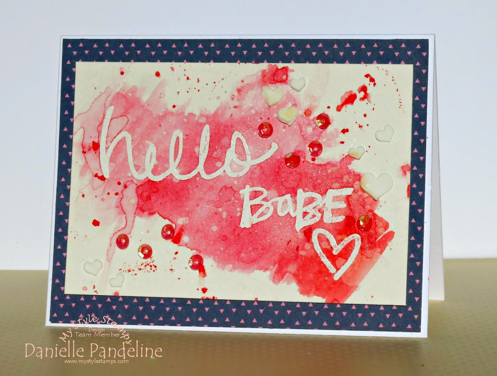 Hello Babe | featuring My Style Stamps | Created by Danielle Pandeline