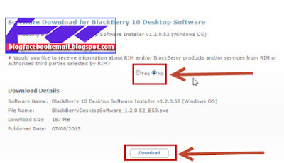 download blackberry blend terbaru untuk PC