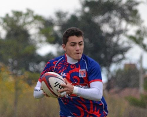 Exequiel Martínez, jugador de Católica Vaqueros RC