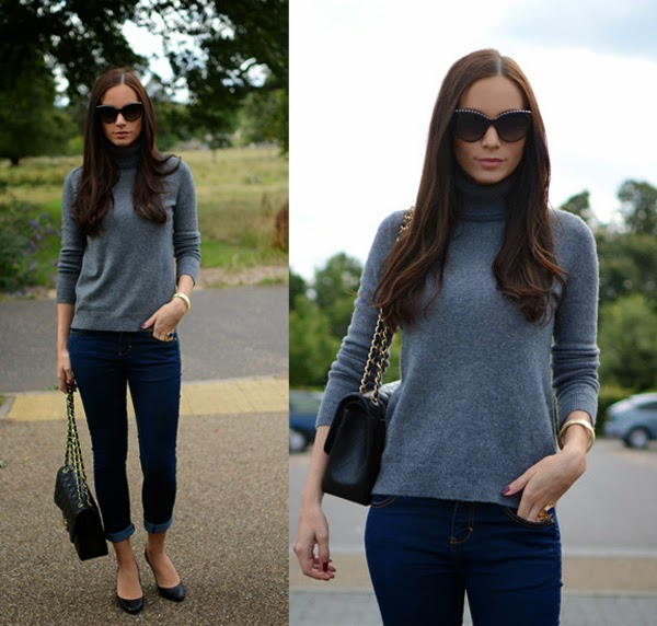 Cashmere_Pullover_Sweater_Chanel_Classic_255_Chanel_Sunglasses_Blue_Jeans
