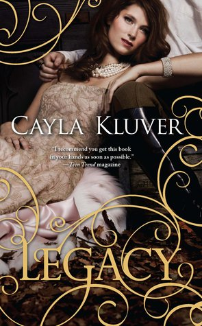 Legacy book cover