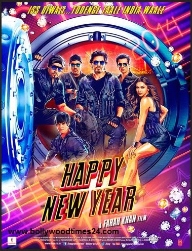 Happy New Year Movie,First look Poster,2014,Happy New Year First look Poster,Picture